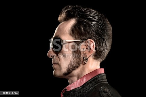 Rocker/Biker studio portraits