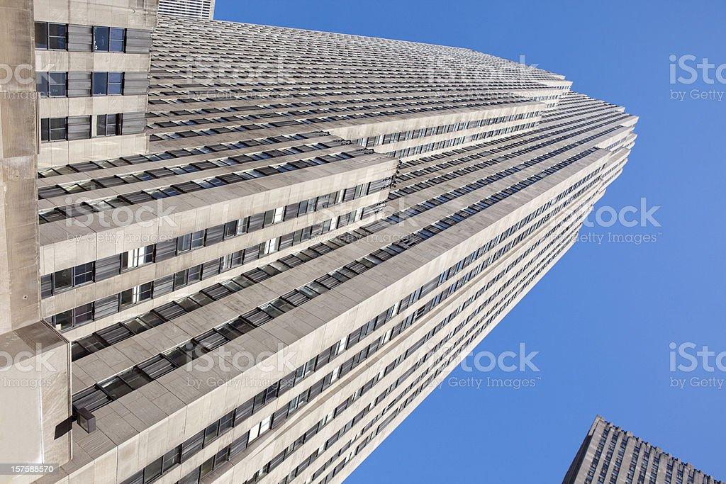 Rockerfeller Building in New York City stock photo