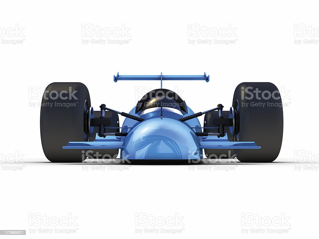Rocket Car Front stock photo