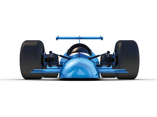 Rocket Car Front 3D Rendering. My own car design! Very high resolution available! motor sport stock pictures, royalty-free photos & images