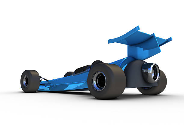Rocket Car 3D Rendering. My own car design! Very high resolution available!Related images: motor sport stock pictures, royalty-free photos & images