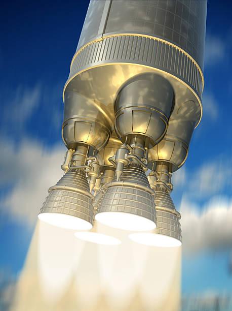 Rocket Motor. – Foto