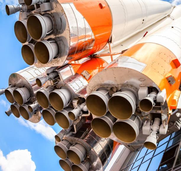 Raketentriebwerke der realen Raumfahrt – Foto