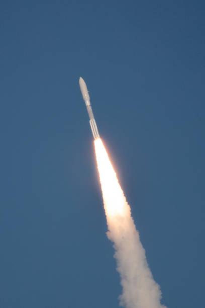 로켓 발사 스톡 사진
