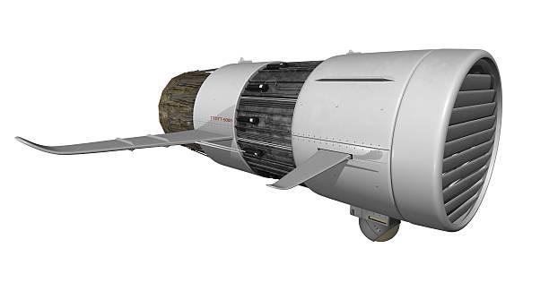 Rocket Abstoßkraft Hintergrundgeräusche – Foto