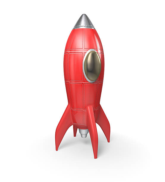 Rocket Ship stock photo