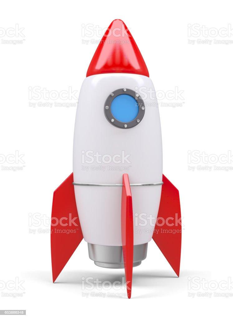 Rocket space ship royalty-free stock photo