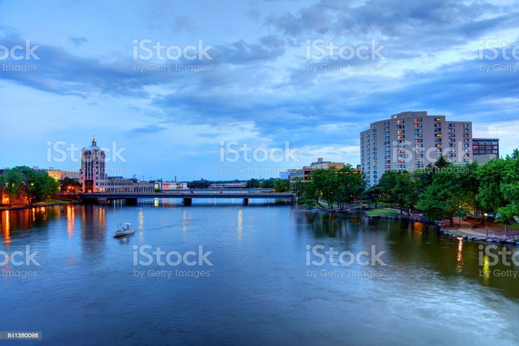 Rockford, Illinois stock photo