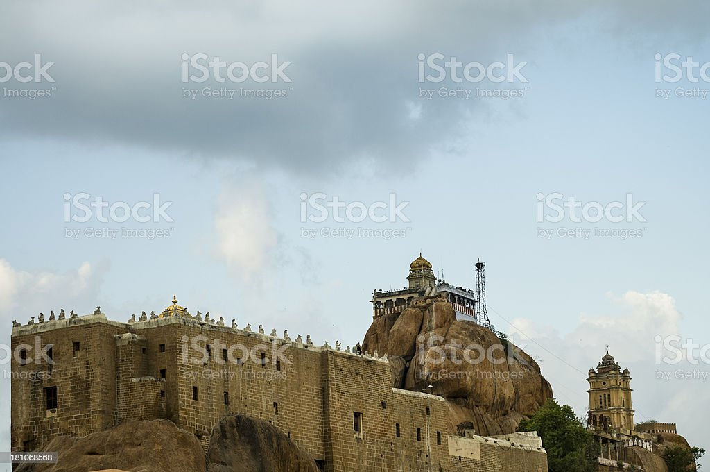 Rockfort Temple royalty-free stock photo