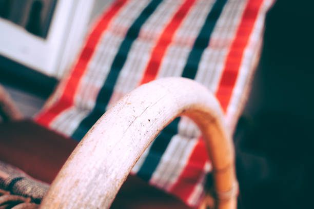 Rocking Chair in Holiday stock photo