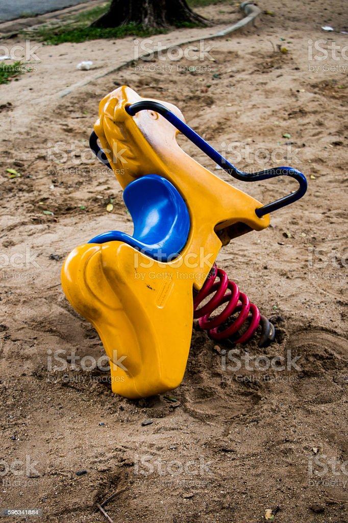 Rocking horse toys Lizenzfreies stock-foto