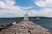 istock Rockland Breakwater Lighthouse 133830697