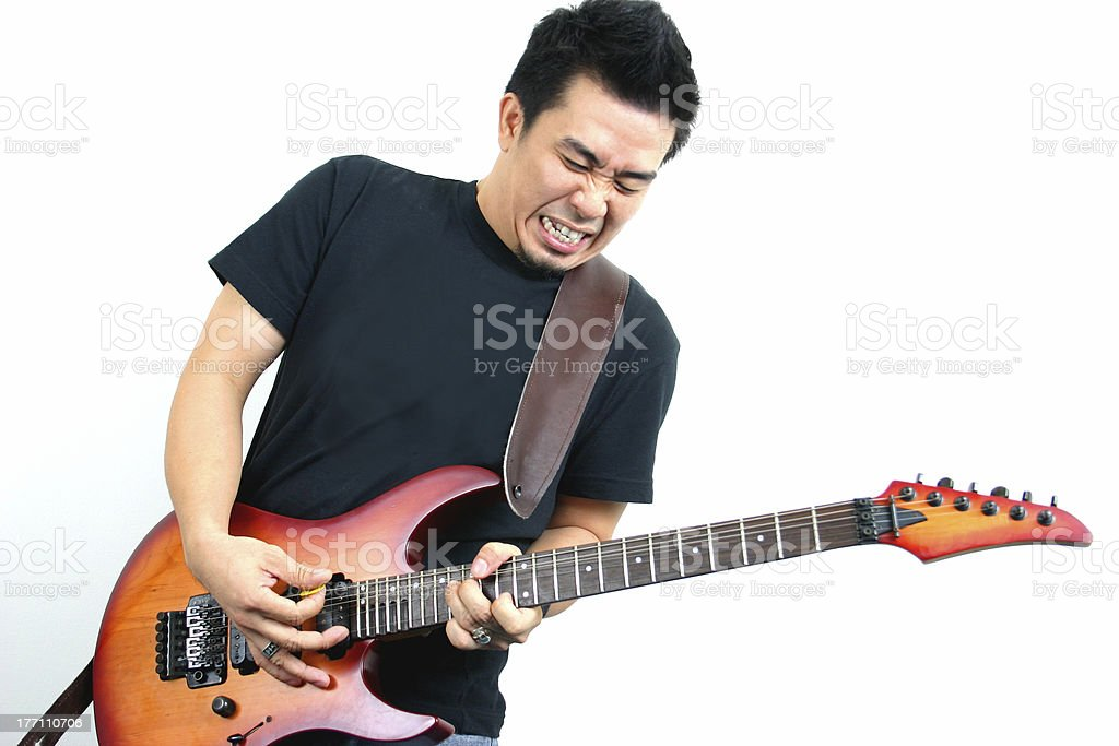 Rock'n roll royalty-free stock photo
