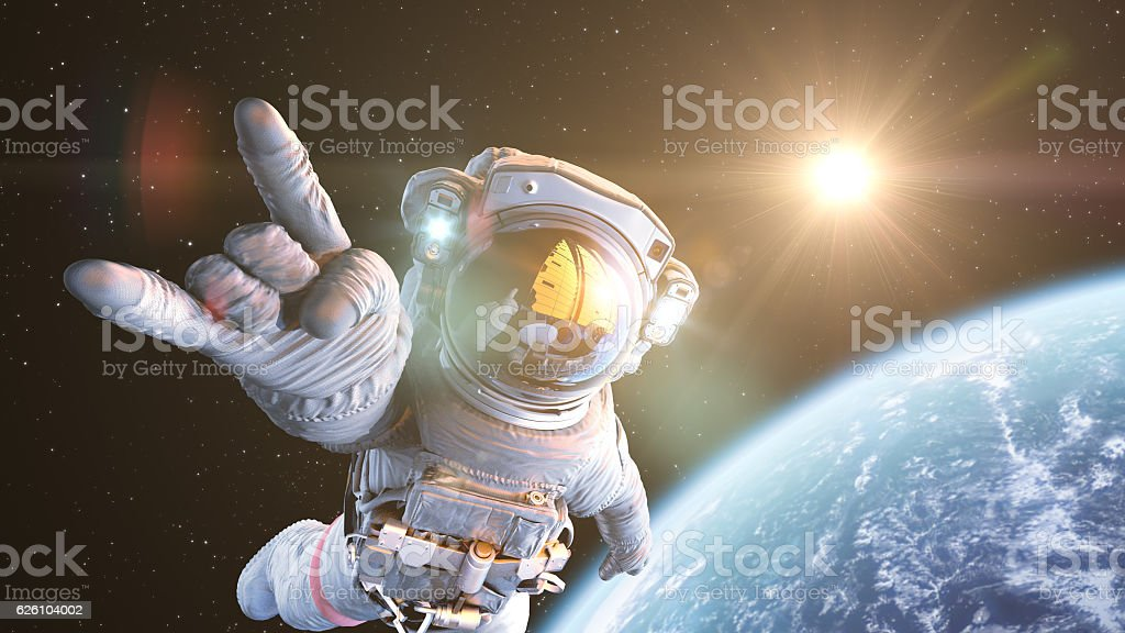 Rock`n Space stock photo