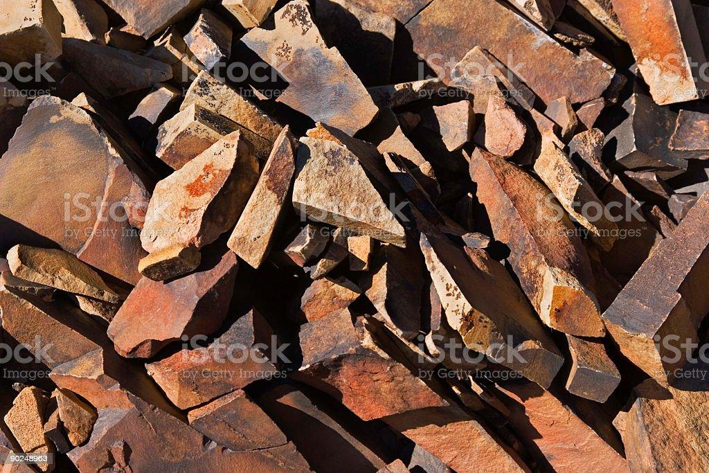Rockpile Abstract royalty-free stock photo