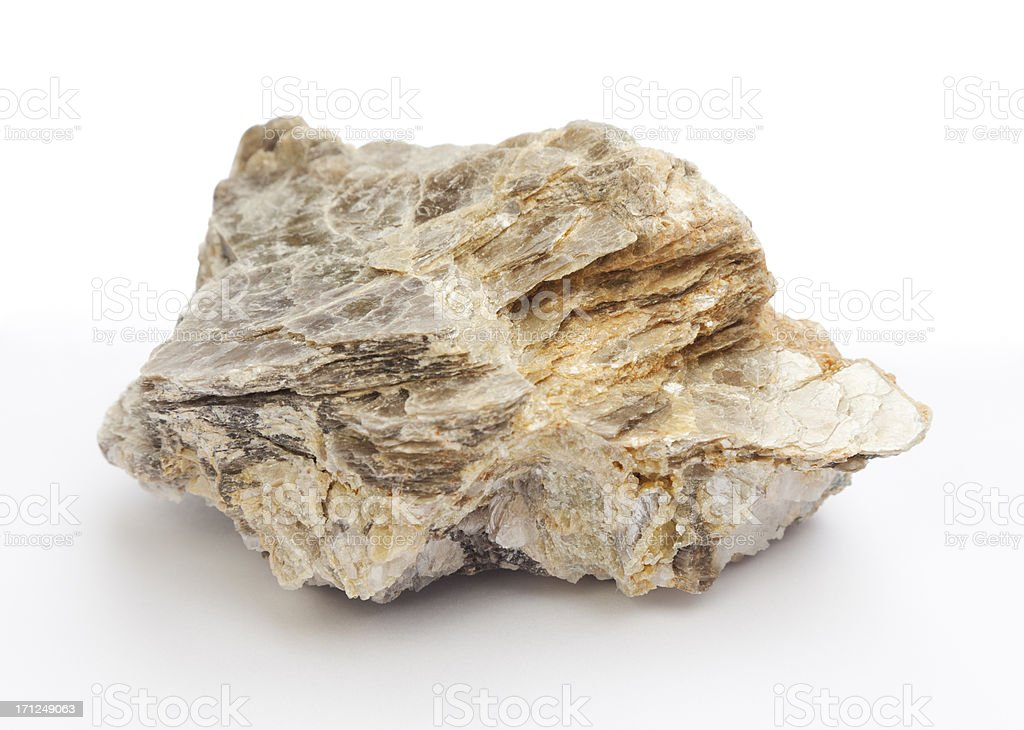 Rocks and Minerals - Mica stock photo