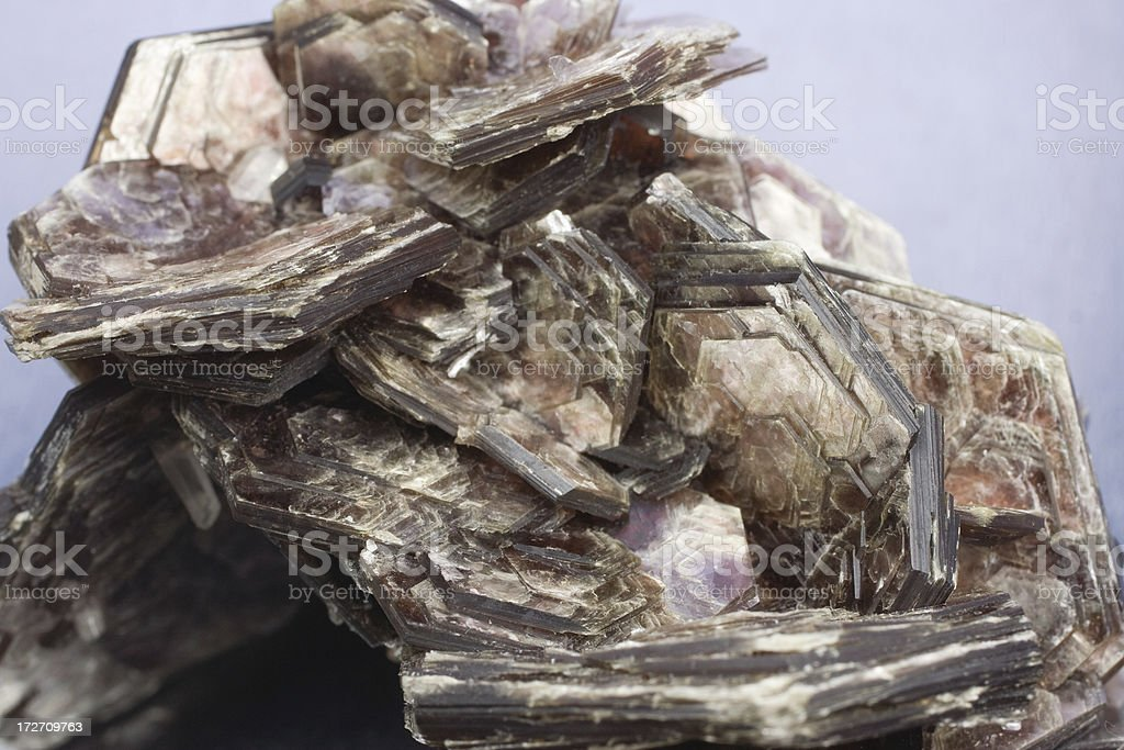 Rocks and Minerals - Muscovite stock photo