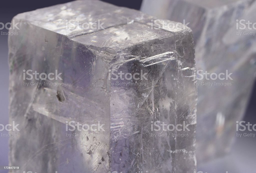 Rocks and Minerals - Optical Calcite stock photo
