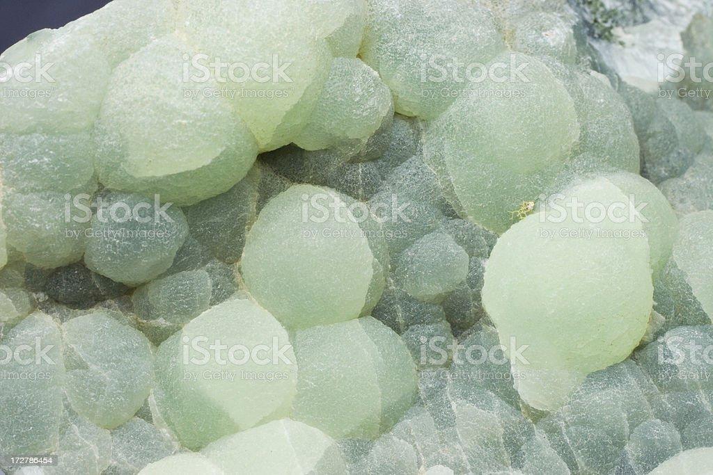 Rocks and Minerals - Prehnite stock photo