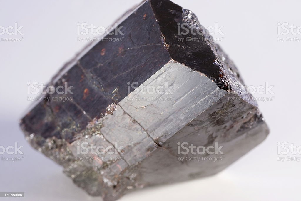 Rocks and Minerals - Rutile stock photo