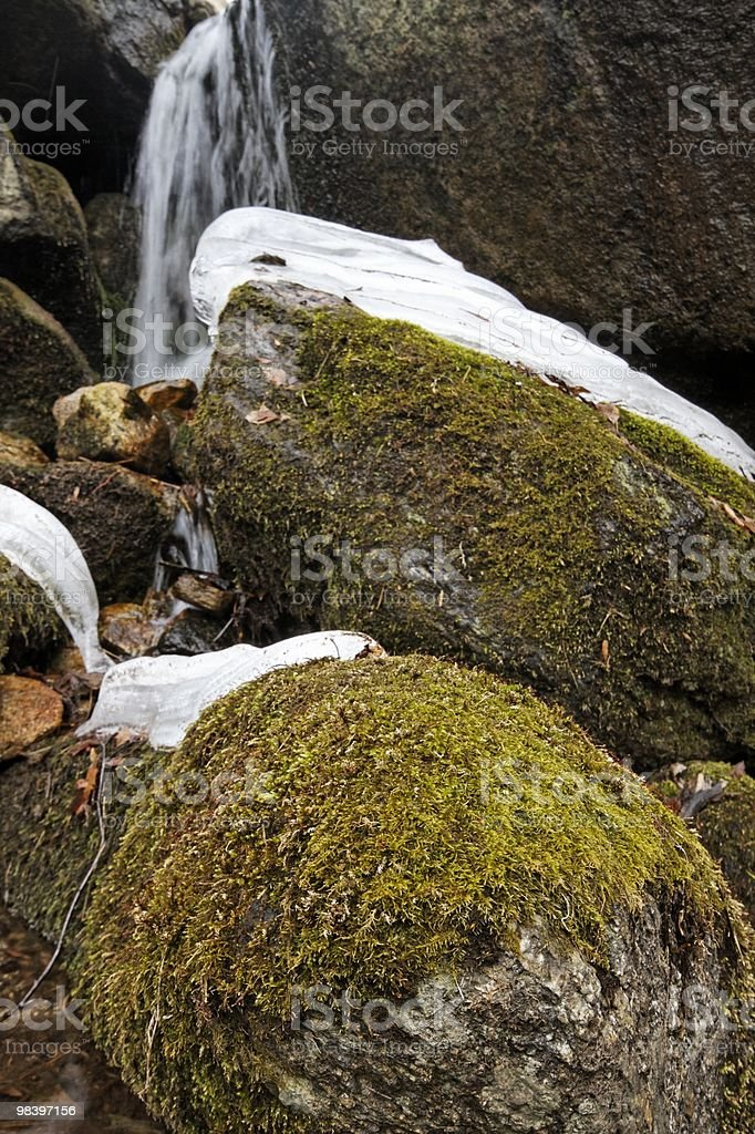 rocks and river royalty-free stock photo
