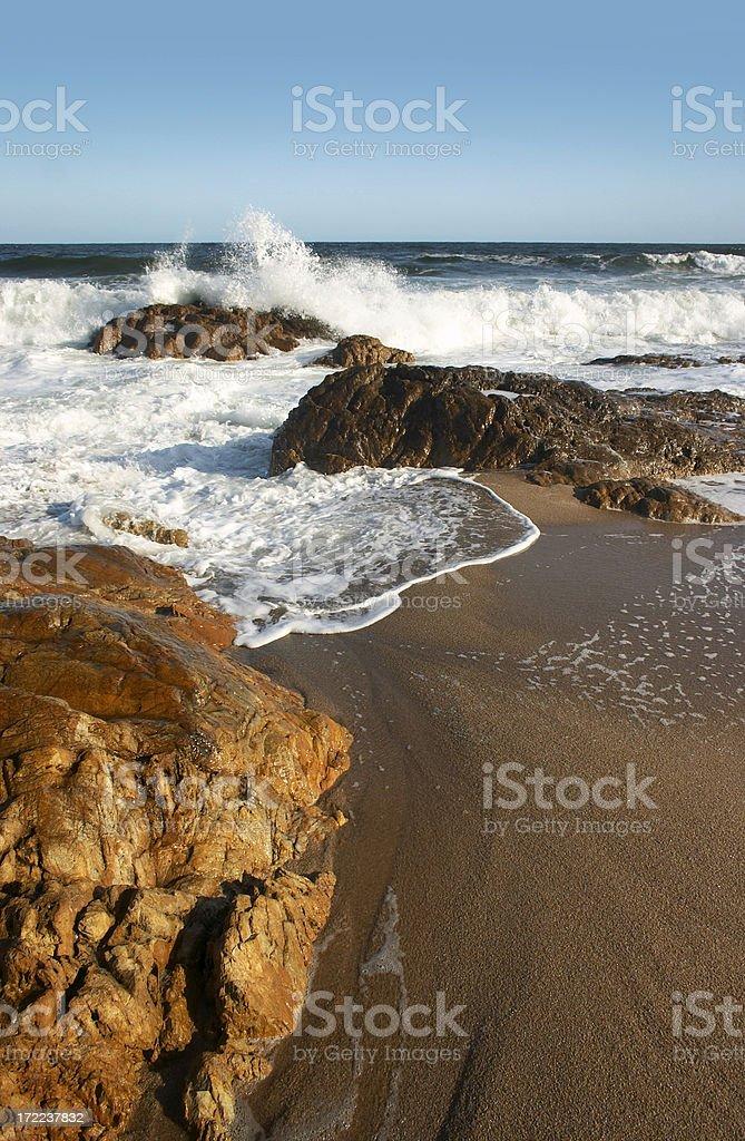 Rocks and sea royalty-free stock photo