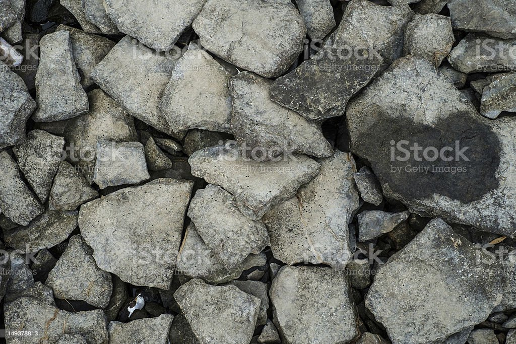 Rocks and stones stock photo