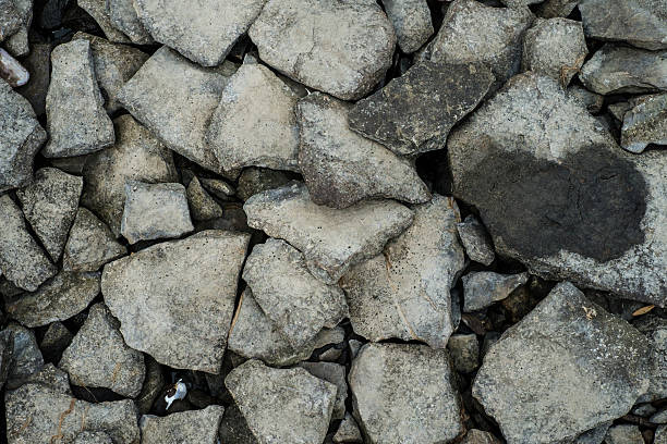 Rocks and stones stock photo