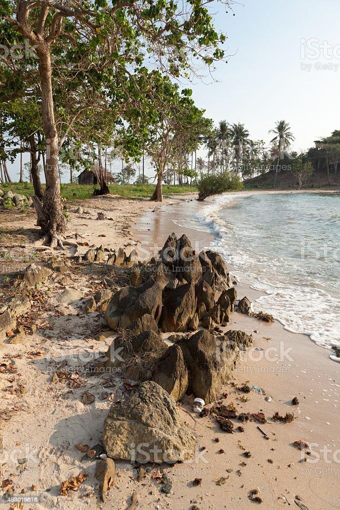 rocks at the beach – Foto