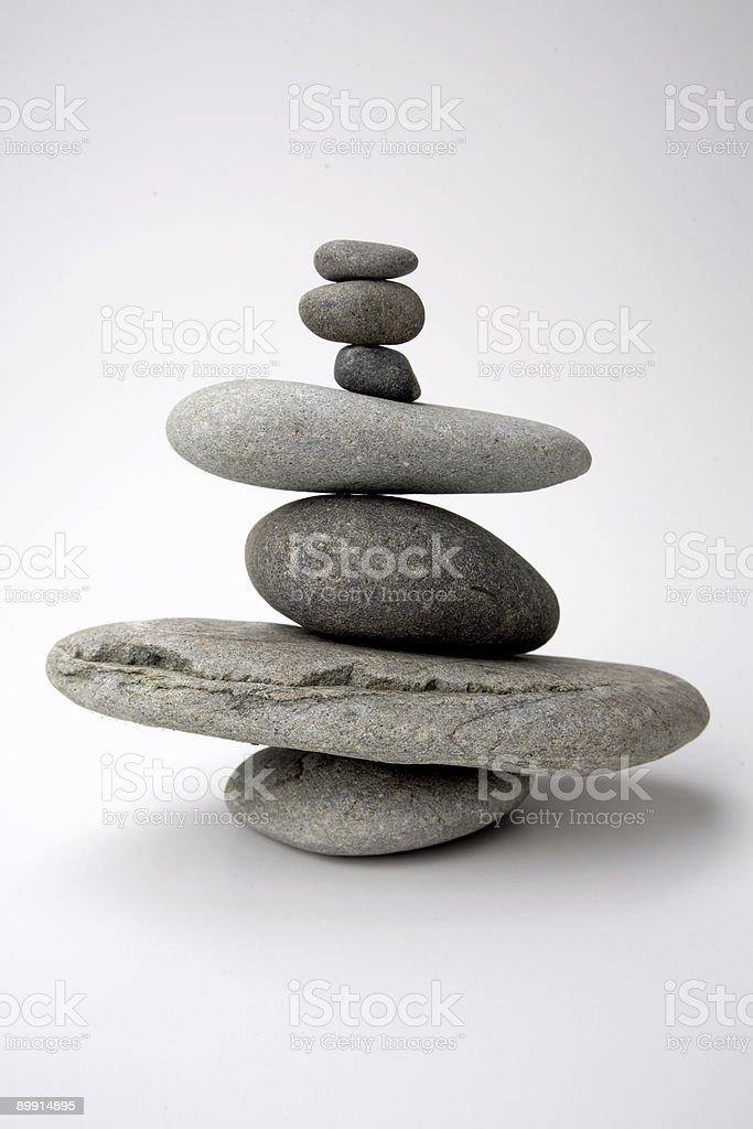 Equilibrio de rocas foto de stock libre de derechos