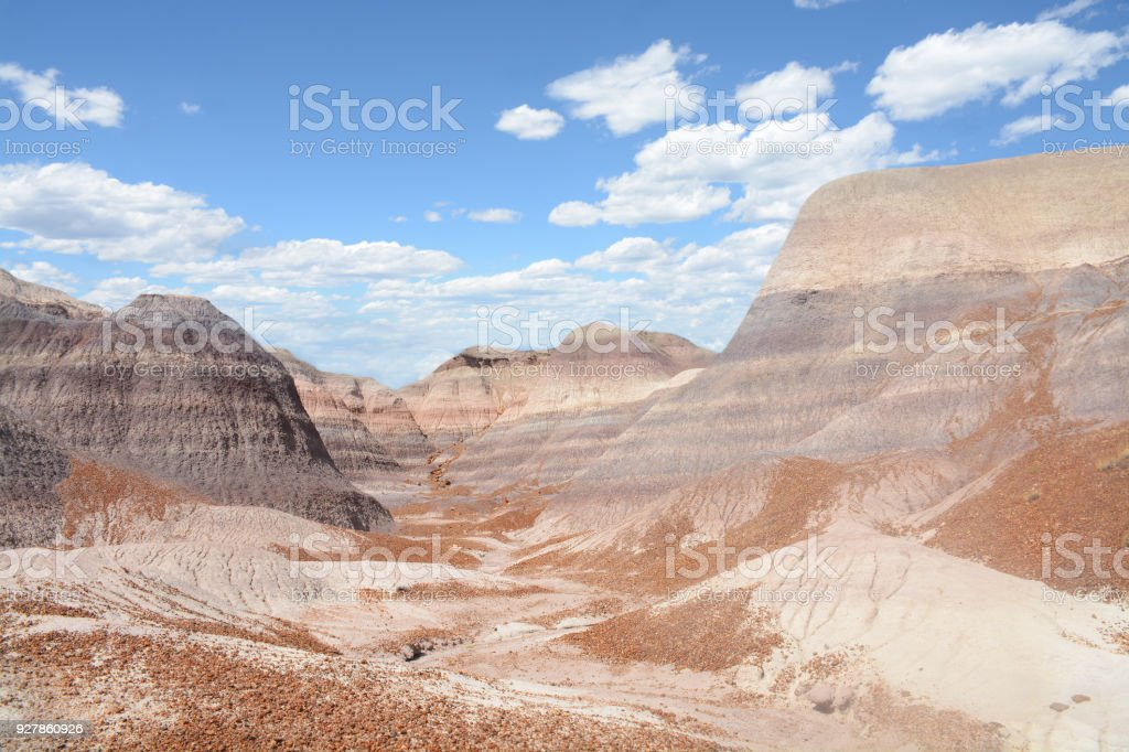 Rocks formations in Arizona. stock photo