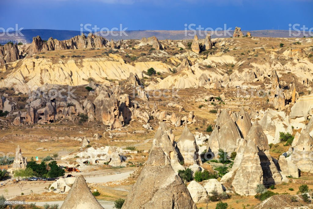 Rocks formations in Capadocia Lizenzfreies stock-foto