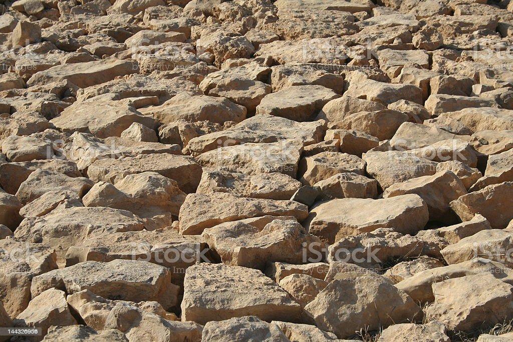 Rocks in daylight royalty-free stock photo