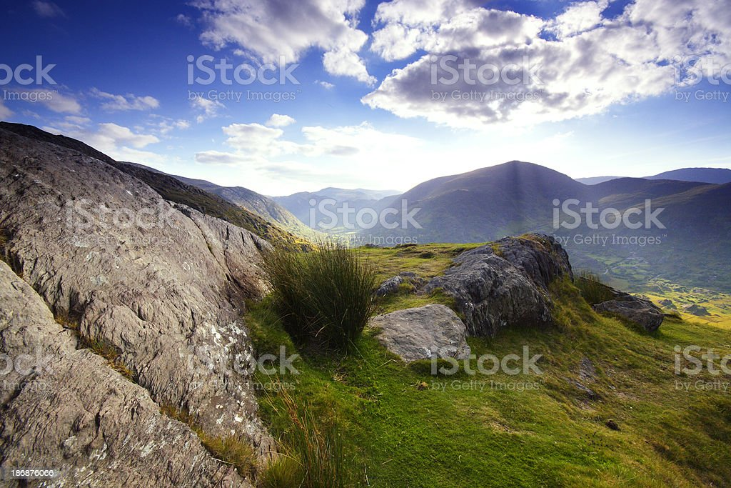 Rocks in Ireland stock photo