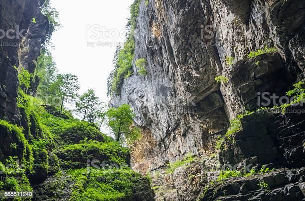 Felsen In Der Breitachklamm Stockfoto und mehr Bilder von Allgäu
