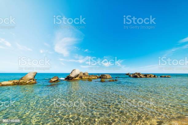 Rocks In The Water In Orri Beach - Fotografias de stock e mais imagens de Ao Ar Livre