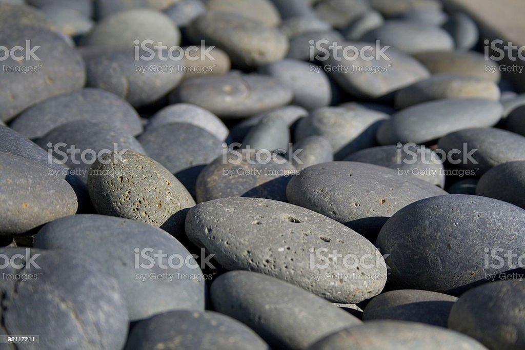 Rocks in Zen Garden royalty-free stock photo
