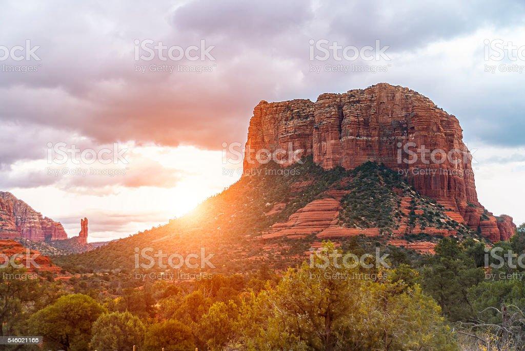 Rocks Near Sedona stock photo