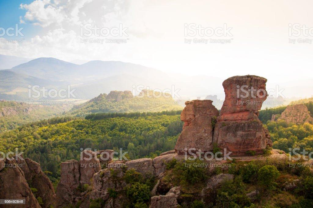 Rocks of Belogradchik stock photo