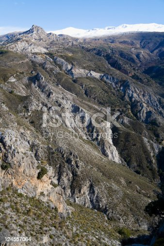 Rocks of the Sierra Nevadas, Andalusia, Spain