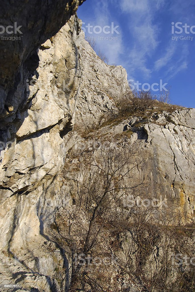 Rocks on a sunny day royalty-free stock photo