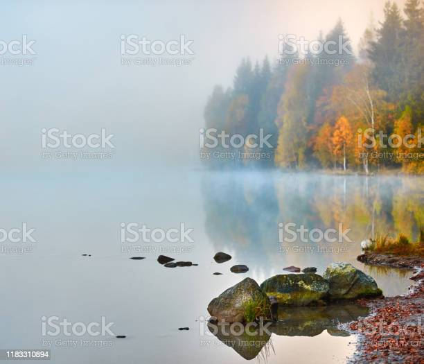 Photo of Rocks on water's edge