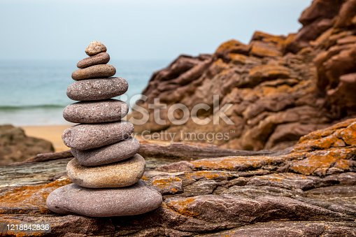 186803914 istock photo Rocks Tower 1218842836