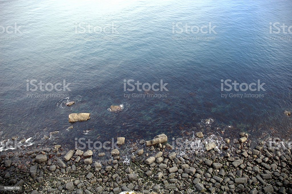 Rockshore Seaside Isle of Skye Scotland royalty-free stock photo