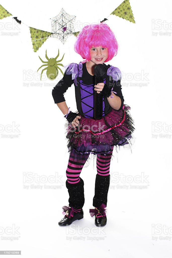 rockstar halloween royalty free stock photo