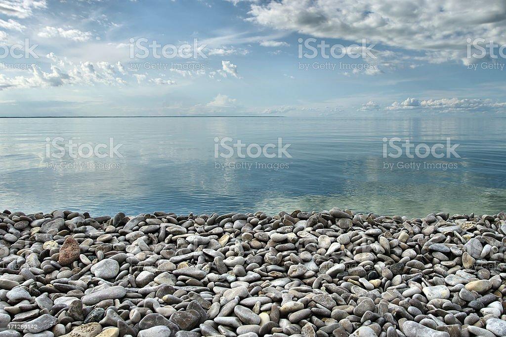 Rocky Beach stock photo