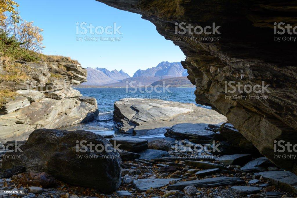 Rocky plage - Photo de Arctique libre de droits