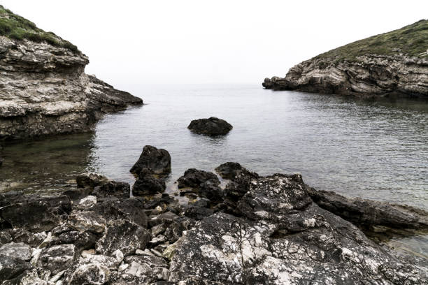 rocky coast - rocky coastline stock pictures, royalty-free photos & images