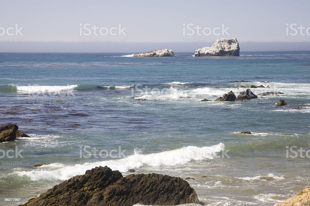 Rocky Costa foto stock royalty-free