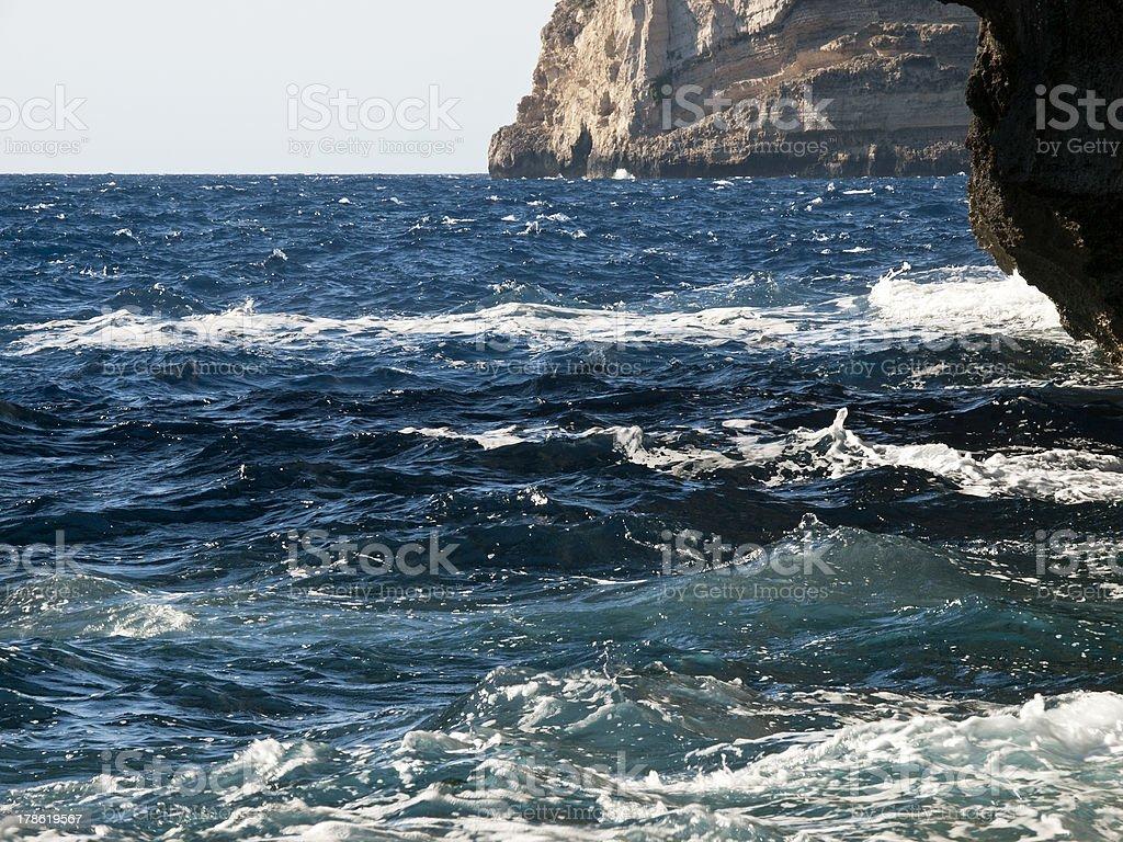 Rocky Coastline royalty-free stock photo